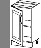 Полка угловая Мета 594-594-720 для спец,01 Стол однодвер
